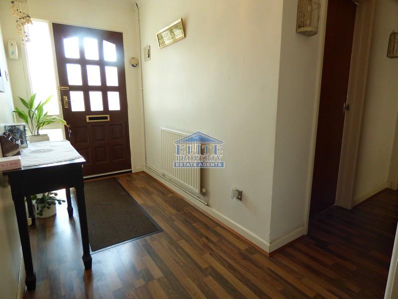 L-shaped hallway